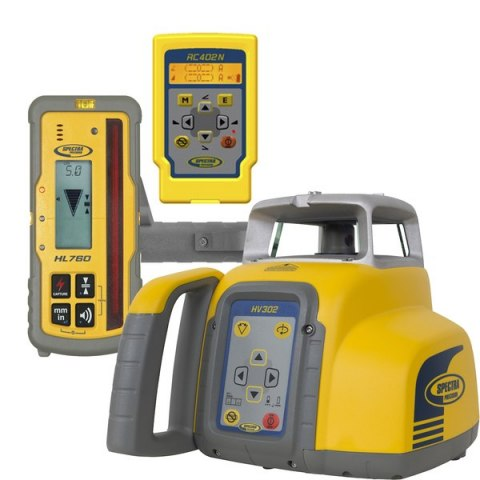Laser Level Spectra Precision HV302 + HL760 + RC402N